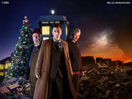 Doctor Who The End of Time Promotional wolpeyper