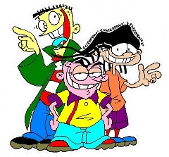 Ed, Edd and Eddy wallpaper probably containing anime titled Ed, Edd n Eddy