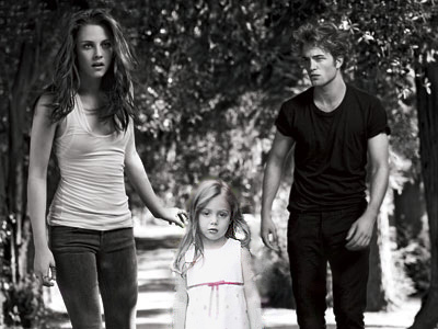 Edward and bella and nessie
