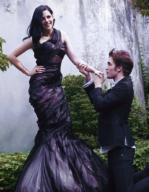 Edward proposing to bella again