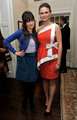 Emily & Zooey at the benefit - deschanel photo