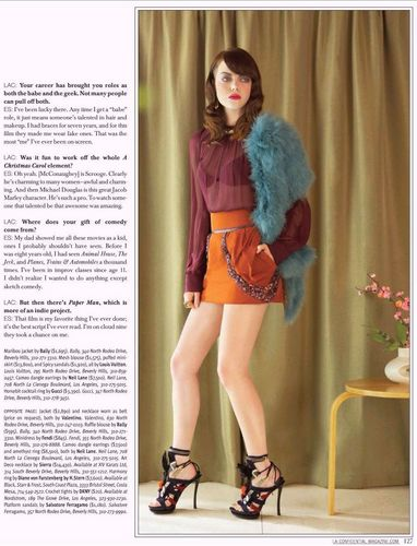 Emma - LA Confidential Magazine - April 2009
