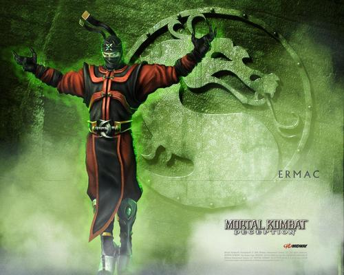 Mortal Kombat kertas dinding containing Anime called Ermac