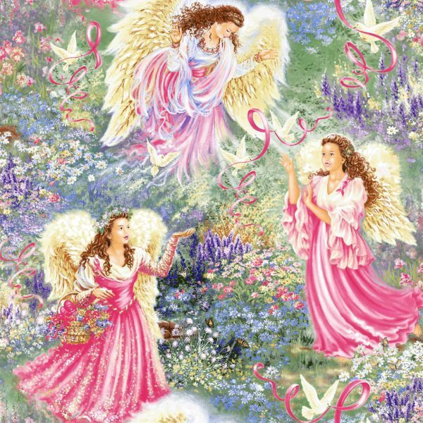Angels Images Angels In Pink Wallpaper And Background