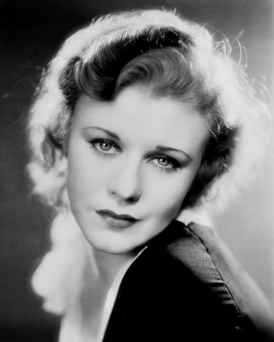 sinema bora karatasi la kupamba ukuta possibly with a portrait entitled Ginger Rogers
