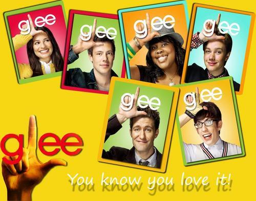 Glee- bạn know bạn tình yêu it!!