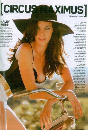 Haley in Maxim