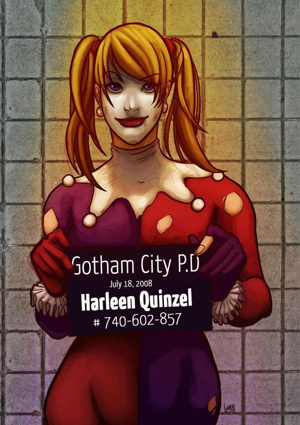 Harley Quinn Mug Shot