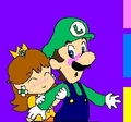 I Love You - luigi-and-daisy fan art