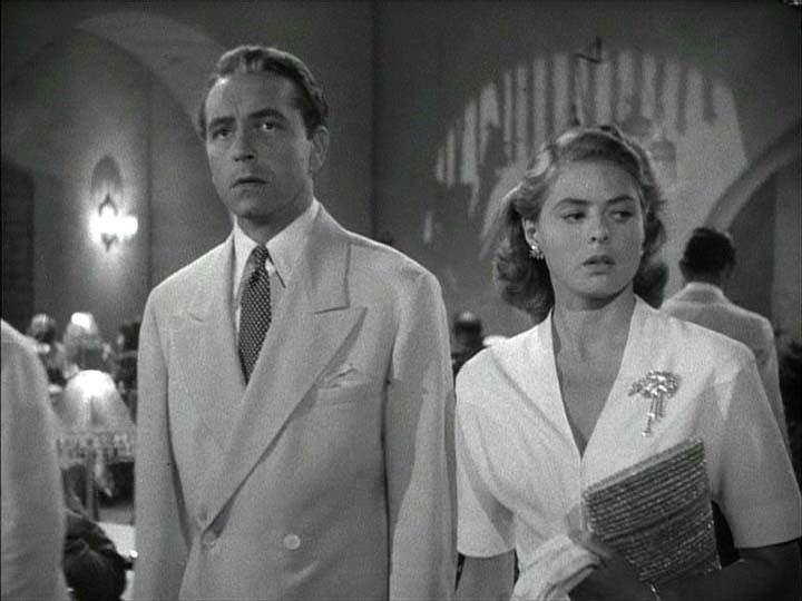 Ilsa Lund and Victor Laszlo
