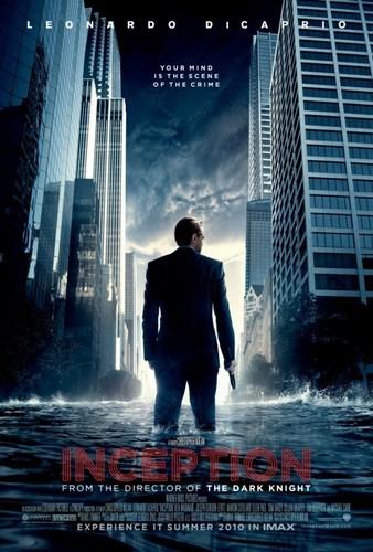 Inception-Leonardo DiCaprio official movie poster