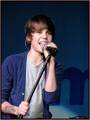 JB singing (my inspiration and crush)