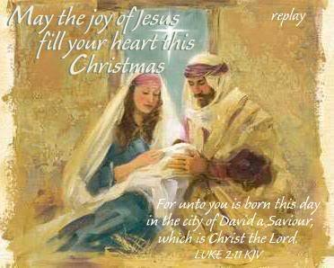 Joyful CHRISTmas to all