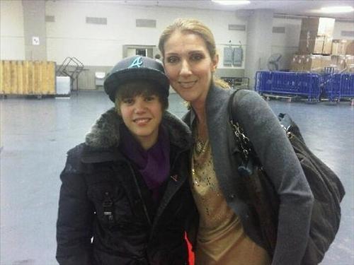 Justin & Celine Dion