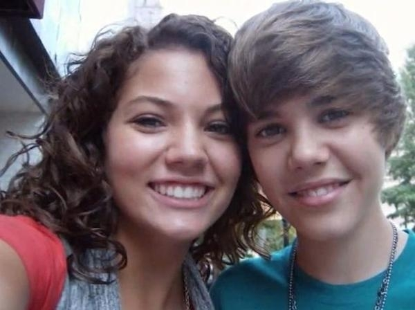 girl from justin bieber baby video. which girl from justin
