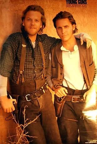 Kiefer Sutherland and Emilio Estevez