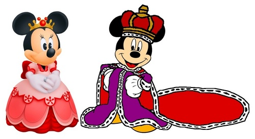 King Mickey and 皇后乐队 Minnie - Kingdom Hearts