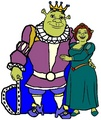 King Shrek and Queen Fiona - shrek fan art