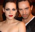 Kristen with make-up artist Beau Nelson - twilight-series photo