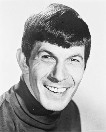 Leonard Nimoy wallpaper probably containing a portrait entitled Leonard Nimoy