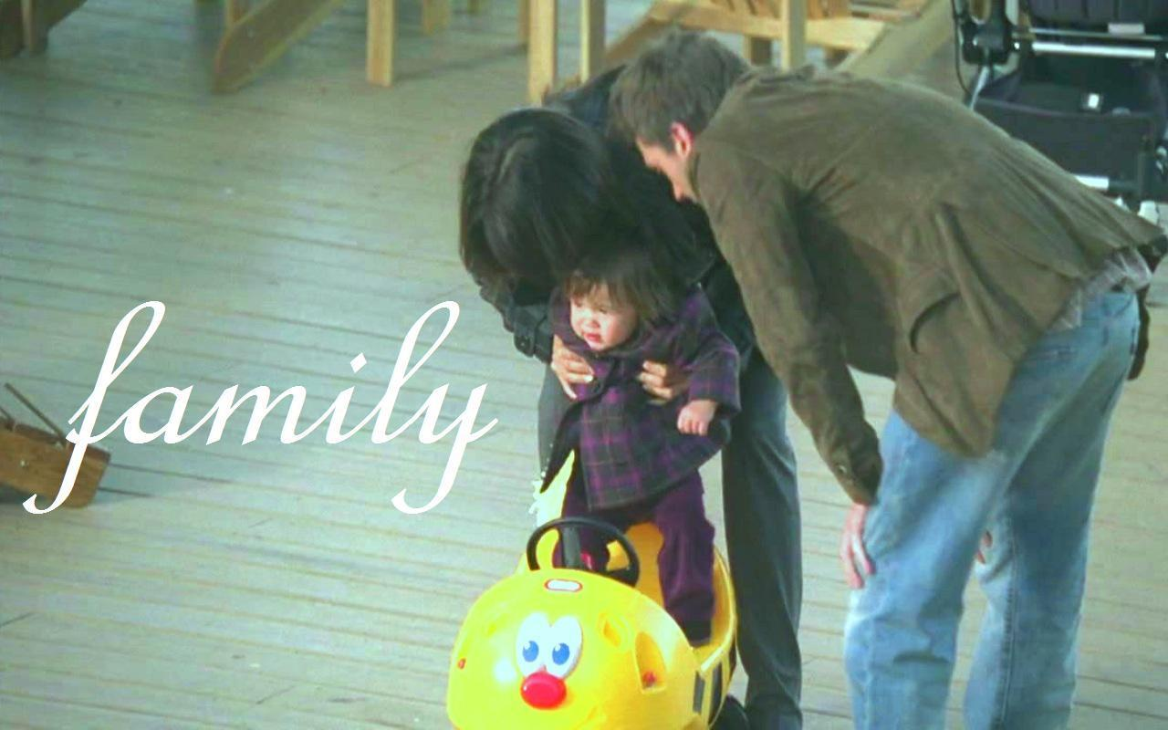 Lisa, Lucas & Baby Rachel in 'Known Unknowns'