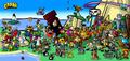Los personajes mas conocidos de Crash Bandicoot