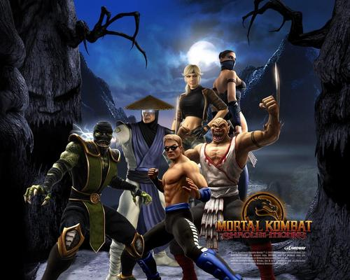MK Shaolin Monks - mortal-kombat Wallpaper