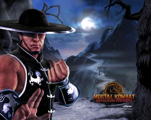 Mortal Kombat wallpaper containing a boater called MK Shaolin Monks