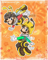 Mario:Bumble Bee Brothers - super-mario-galaxy fan art