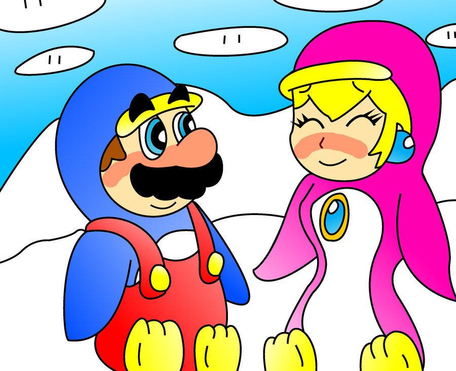 MarioxPeach: 펭귄 사랑