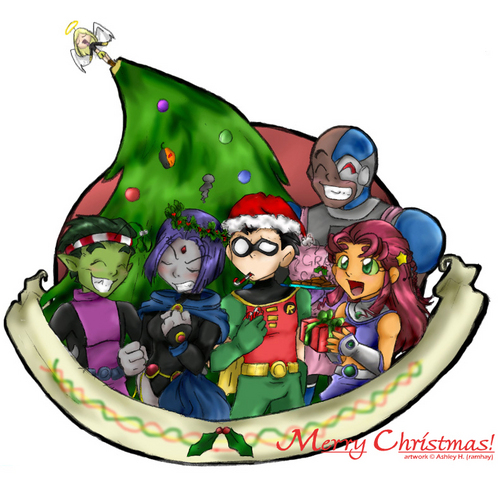 Teen Titans wallpaper called Merry Natale