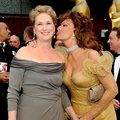 Meryl Streep and Sophia Loren - sophia-loren photo