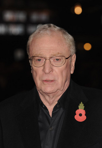 Michael Caine  At The Premiere Of Harry Brown