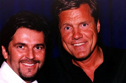 Modern Talking Hintergrund containing a business suit and a portrait titled Modern Talking
