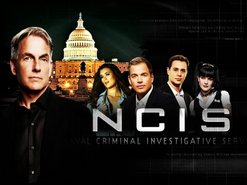 NCIS achtergrond probably containing a business district and a business suit called NCIS