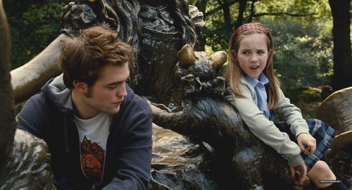 Nessie at the park with Edward