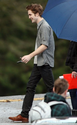 New Moon Edward Cullen candid 写真