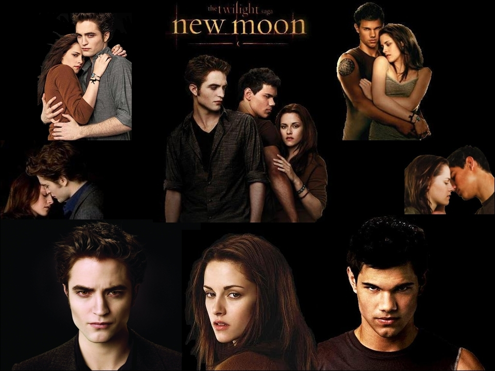 new moon wallpaper edward and bella photo 9438951 fanpop