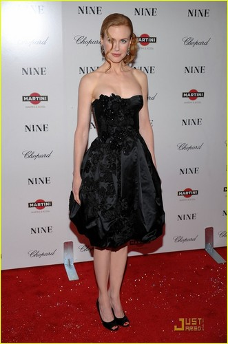 Nicole @ NYC premiere of Nine