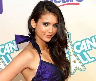 Nina Dobrev wallpaper possibly with attractiveness and a portrait titled Nina Dobrev