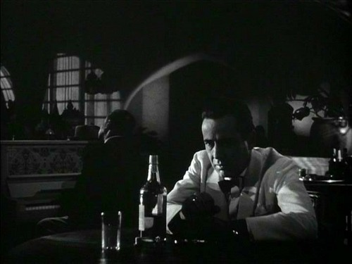 Of all the gin joints in all the towns in all the world, she walks into mine