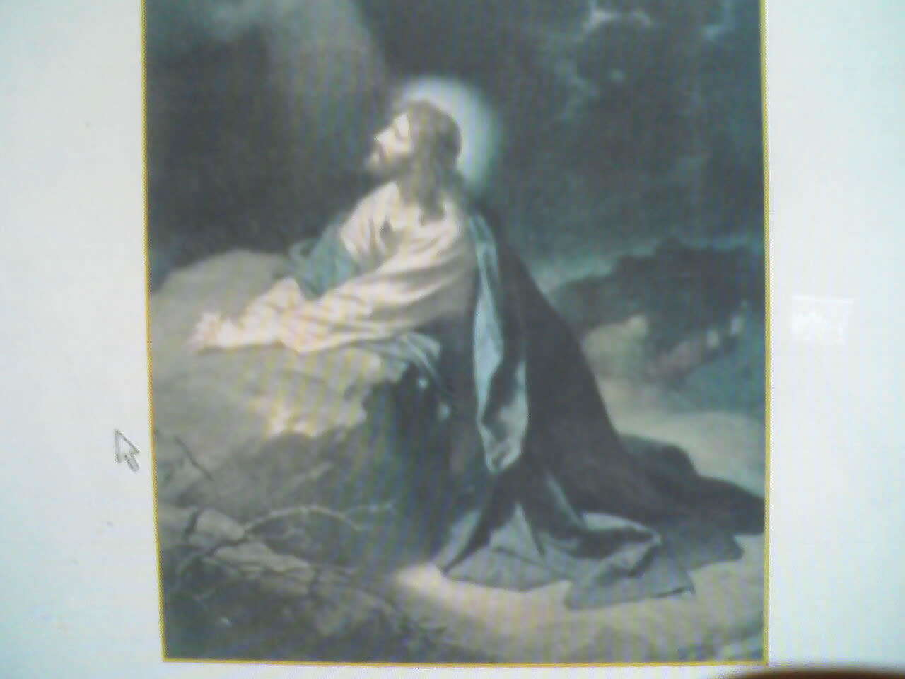 Our Lord Praying to His Father - Jesus Christ-our Lord Photo ...