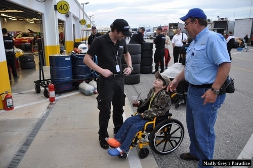 Patrick Dempsey at Daytona