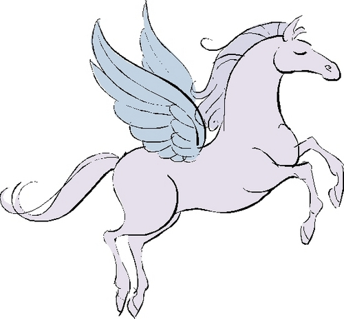 Pegasus - percy-jackson Fan Art