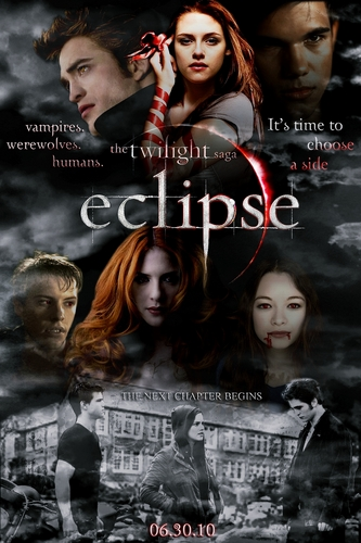 Poster Twilight Saga: Eclipse - Fanmade