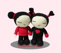 Pucca and Garu dolls