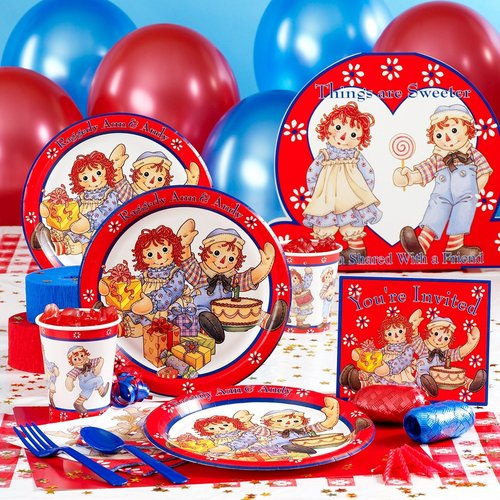 Raggedy Ann And Andy Party Selection