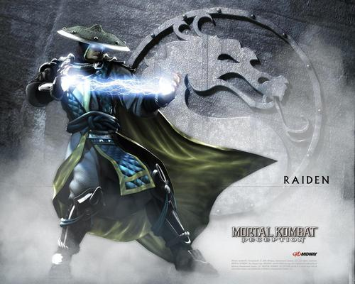 Mortal Kombat wallpaper entitled Raiden