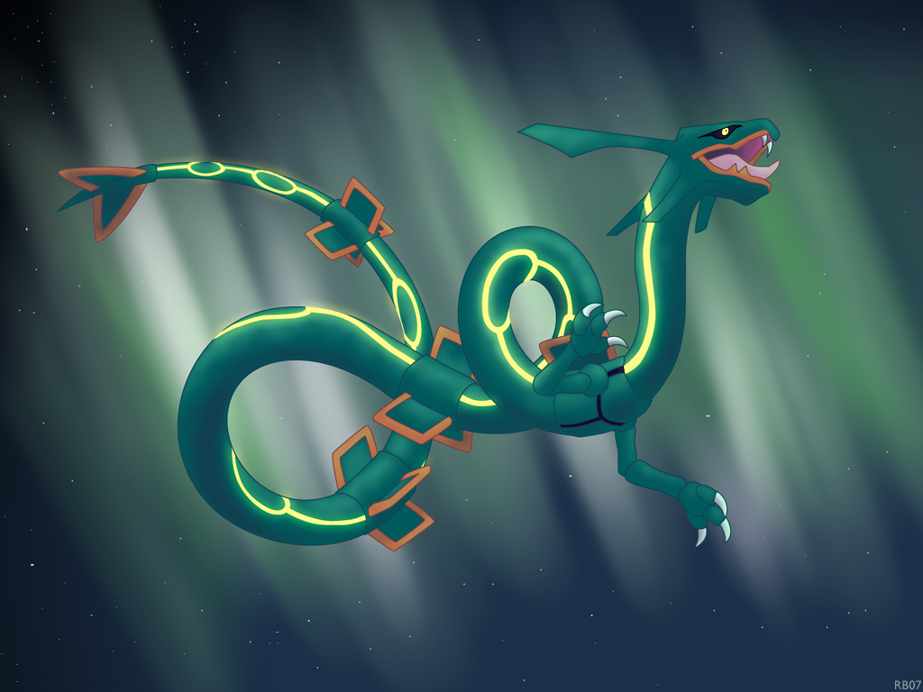 emerald rayquaza wallpapers - photo #28