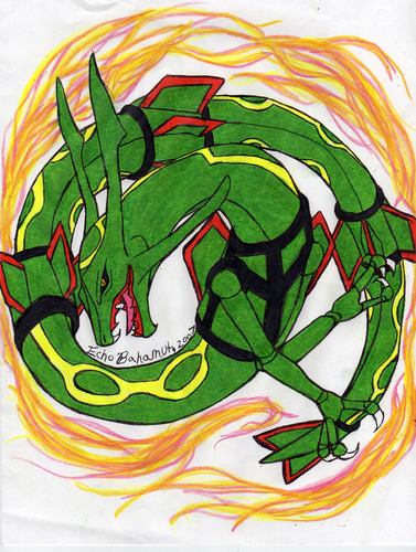 Rayquaza drawing